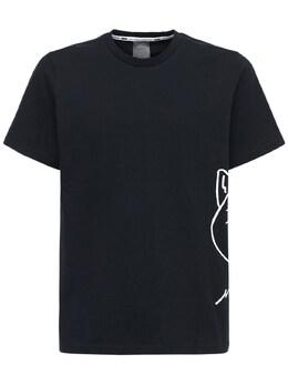 Cat Jaws Cotton Jersey T-shirt Puma Select 72I0II064-UFVNQSBCTEFDSw2
