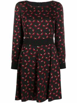 Emporio Armani короткое платье с геометричным принтом 5NA1CT52520