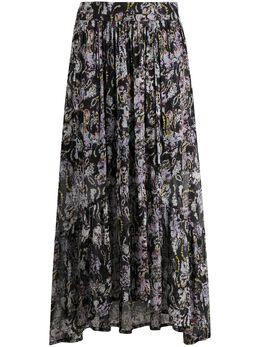 Iro расклешенная юбка миди с вышивкой WM31JUNEA