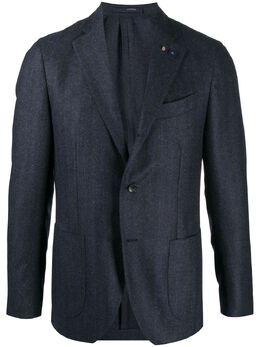 Lardini однобортный пиджак в полоску IM528AEIMRP55592