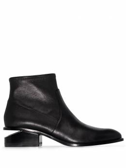 Alexander Wang Black Kori leather ankle boots 3028T0051L