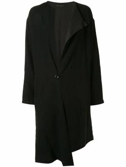 Y's asymmetrical wool coat YBC02126