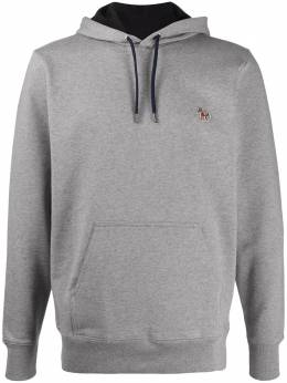 Ps by Paul Smith embroidered patch hoodie M2R284SAZEBRA