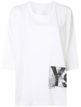 Y's logo print short-sleeved T-shirt YBT02670
