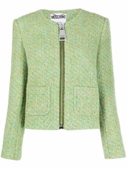 Moschino tweed jacket A05115519