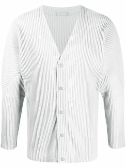 Homme Plisse Issey Miyake pleated button-down cardigan HP08JL141