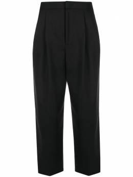 Moschino укороченные брюки строгого кроя A03185543