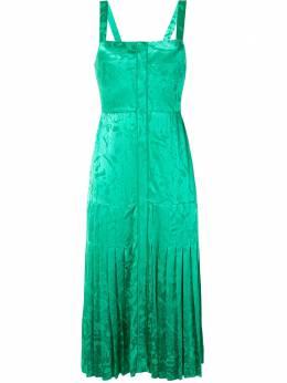 Alexis платье миди Oraina со складками A1204106023