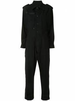Yohji Yamamoto комбинезон-рубашка на пуговицах FBD51101