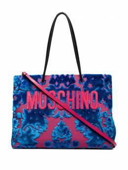 Moschino сумка-тоут с цветочным принтом A75548218
