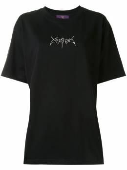Y's футболка с короткими рукавами и логотипом YBT44036
