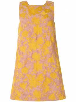 Karen Walker платье мини Marigold с цветочным принтом 42193