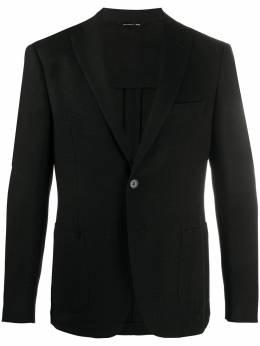 Tonello textured single-breasted blazer 06G327Y7197U