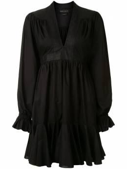 Karen Walker ярусное платье мини Dandelion 42188