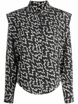 Isabel Marant рубашка с принтом HT196620H042I