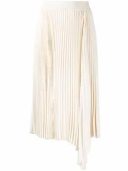 Joseph плиссированная юбка миди асимметричного кроя JF005000