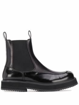 Joseph ботинки челси с закругленным носком JO35026A12070