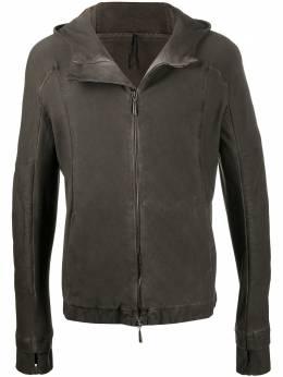 Masnada куртка на молнии с капюшоном M2548