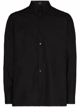 Fendi logo tape cotton shirt FS0751AC2G