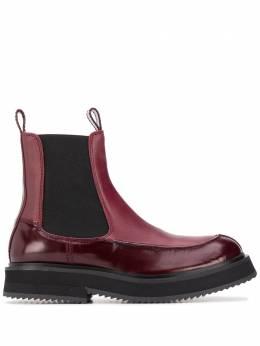 Joseph ботинки челси с закругленным носком JO35026A12071