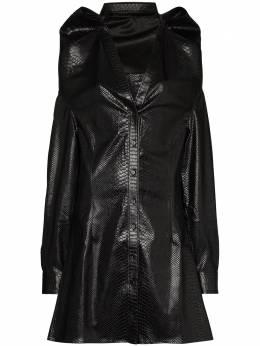 Y / Project рубашка из искусственной кожи WSHIRT49S19