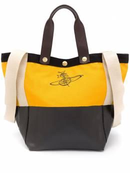 Vivienne Westwood сумка-тоут в стиле колор-блок с логотипом 4201004511415ET