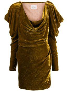 Vivienne Westwood платье мини с длинными рукавами 1101016711563