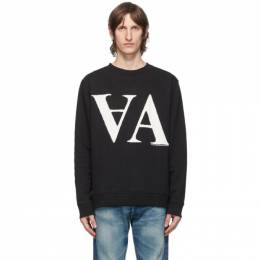 Vyner Articles Black and White AA Graphic Sweatshirt 0A081026