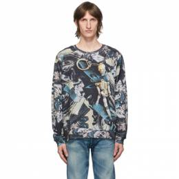 Vyner Articles Multicolor Digital Comic Long Sleeve T-Shirt 0A058011