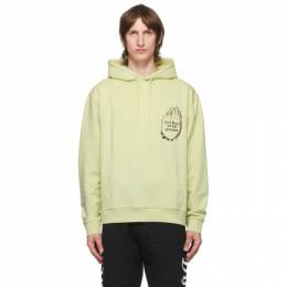 Vyner Articles Green Cod Graphic Hoodie 0A013013