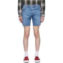 Levi's Blue Denim 501 93 Cut-Off Shorts 85221-0003