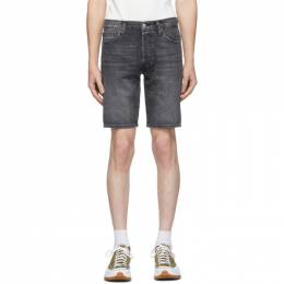 Levi's Black Denim 501 Shorts 36512-0087