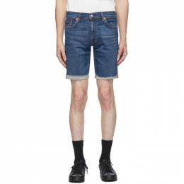 Levi's Blue 511 Slim Cut-Off Shorts 36555-0331