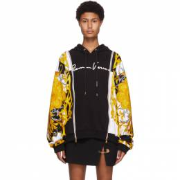 Versace Black Acanthus Hoodie A87038_A235782_A7027