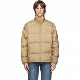 Levi's Tan Down Fillmore Puffer Jacket 27732-0003