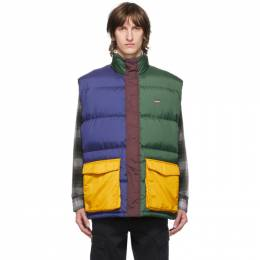 Levi's Multicolor Down Stay Loose Fillmore Vest 29433-0000