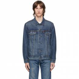Levi's Blue Denim Vintage Fit Trucker Jacket 77380-0017