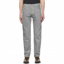 Levi's Grey Garment-Dyed 501 93 Straight Jeans 79830-0106