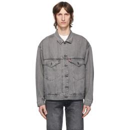 Levi's Grey Denim Stay Loose Trucker Jacket 28789-0002