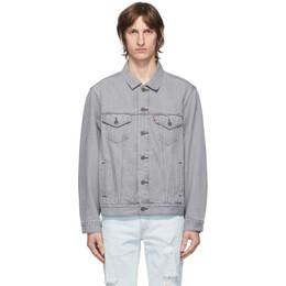 Levi's Grey Denim Vintage Fit Trucker Jacket 77380-0025
