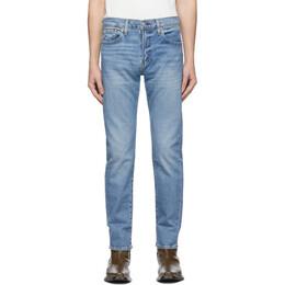 Levi's Blue 502 Taper Jeans 29507-0805