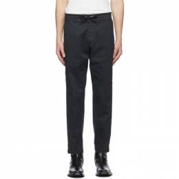 Levi's Black Cropped Pull-On Taper Trousers 39435-0000