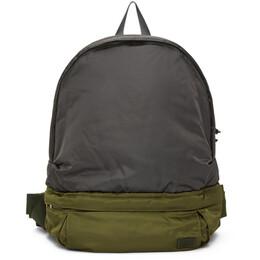 Sacai Khaki and Grey Porter Edition Nylon Backpack 20-0123S