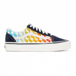 Vans Blue OG Old Skool LX Sneakers VN0A4P3X0BF