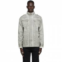 A-Cold-Wall* Grey Fade-Out Field Jacket ACWMO027
