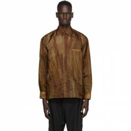 A-Cold-Wall* Brown Translucent Long Sleeve Shirt ACWMSH029