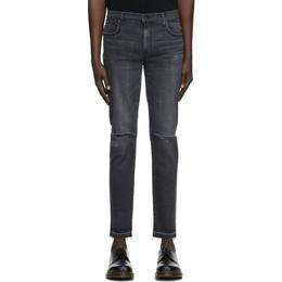 Moussy Vintage Black Denim MVM Kyle Skinny Jeans 025DAC12-4080