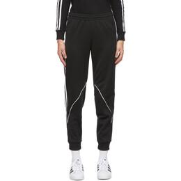 Adidas Originals Black Big Trefoil Abstract Lounge Pants GE6236
