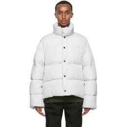 Jacquemus Grey La Doudoune Blouson Coat 206BL01-206 135920