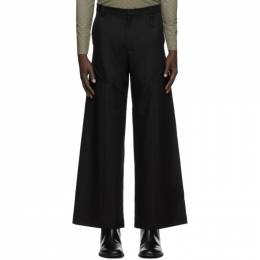 Marine Serre Black Large Tailor Pants P045FW20M